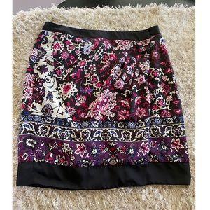 New York & Company Wrap Skirt Size 12